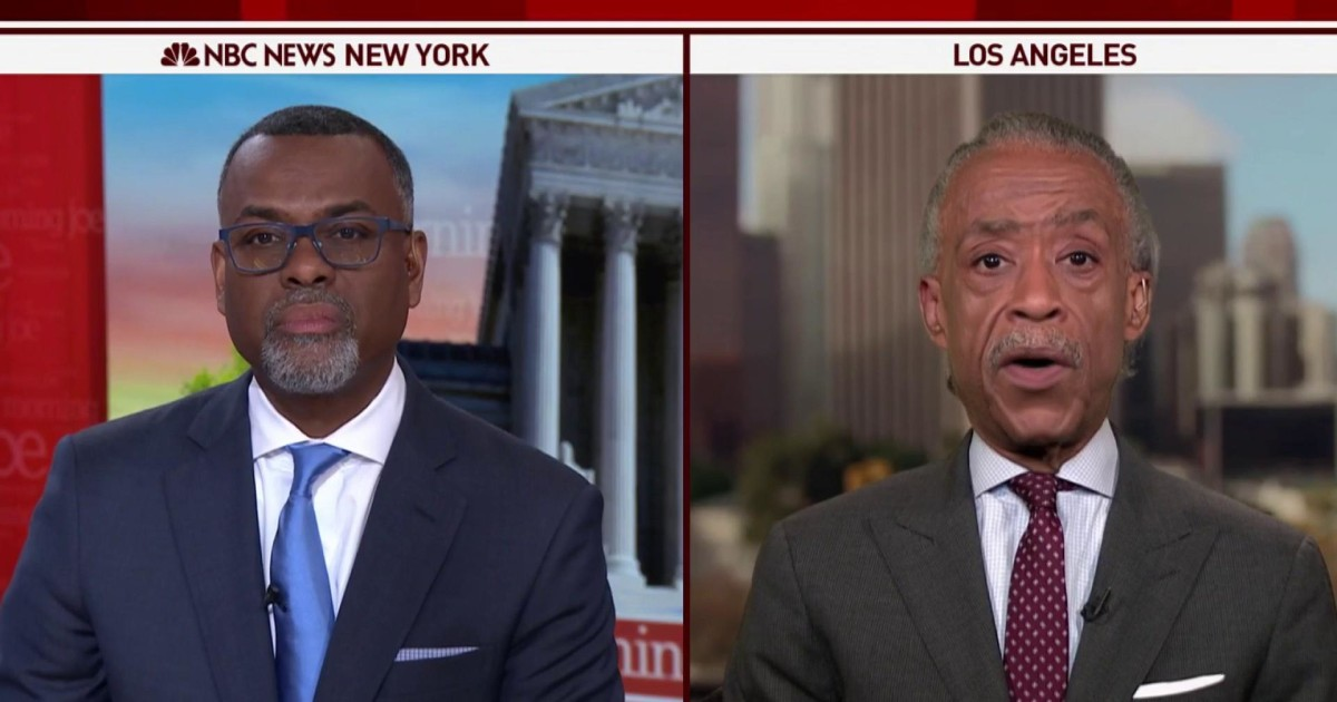 Rev. Al: I don't know why Biden can't apologize for implication