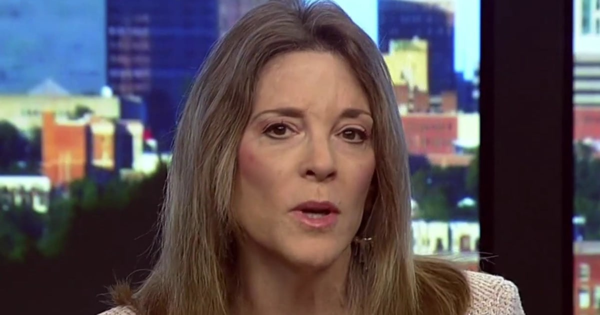 Marianne Williamson says she supports mandatory vaccines – but 'when they are called for'