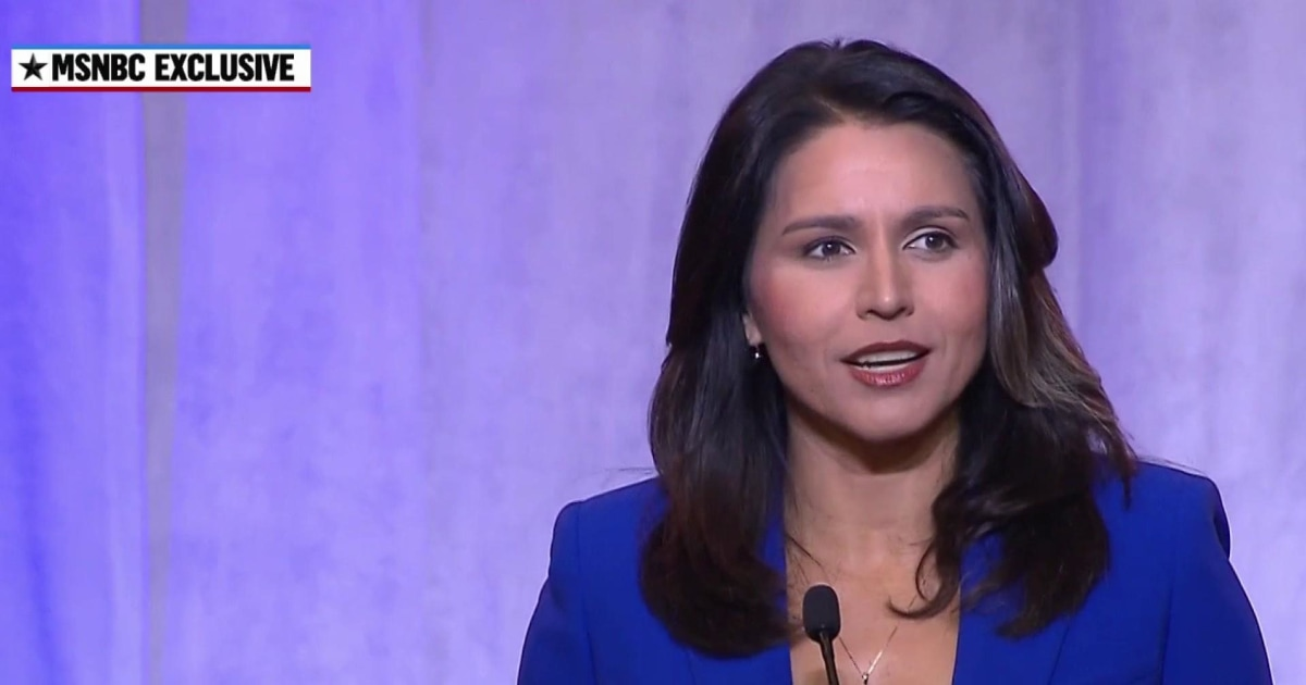 Rep. Gabbard: President Trump is leading us closer to a war with Iran