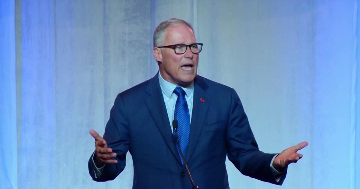 Jay Inslee talks minimum wage, NRA at South Carolina Democrat convention