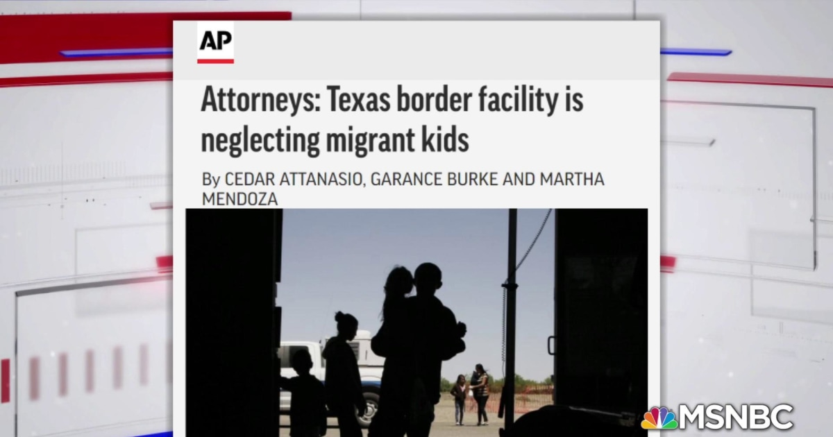 Lawyers tell AP Texas border facility is neglecting migrant kids