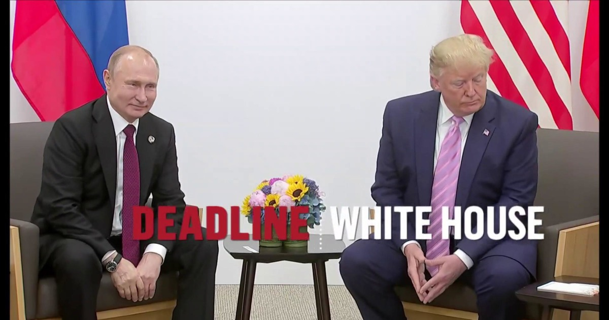 Trump makes light of Russian election meddling while meeting with Putin
