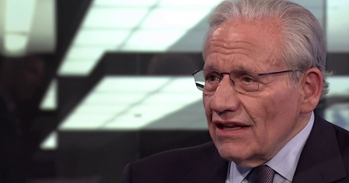 Bob Woodward: Trump's not Nixon, but he tried to 'strangle' probe