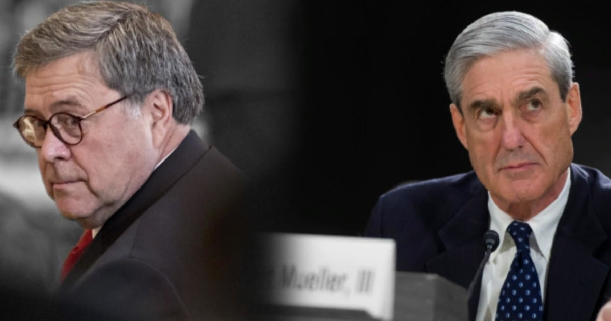 Mueller's testimony could worsen his split with Trump Atty. General William Barr