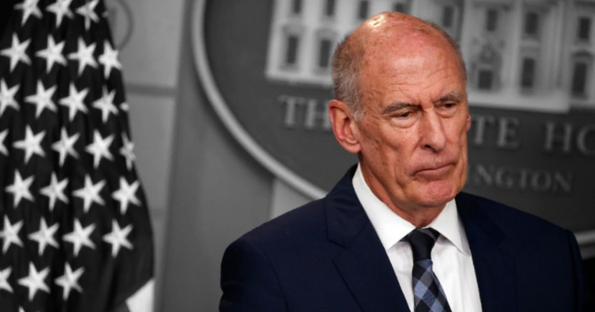 After Labor Secy. Acosta ouster, Trump looks ready to replace intel boss Dan Coats