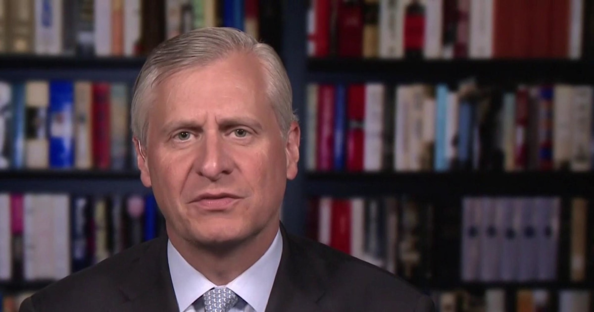 Jon Meacham: Trump joined Andrew Johnson as 'most racist president in American history'