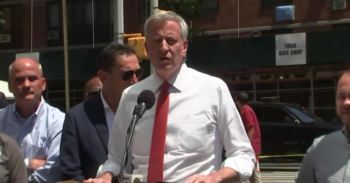 Mayor Bill de Blasio says blackout 'not a cyber attack'