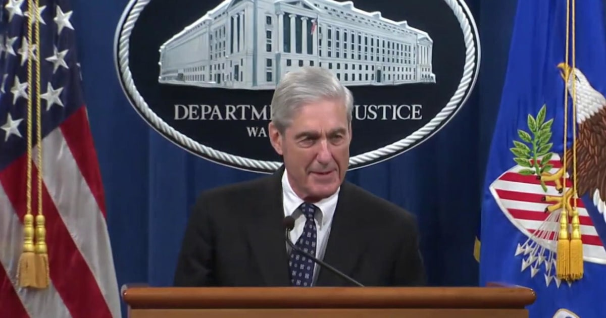 Will Mueller say anything beyond what's in his report to Congress?