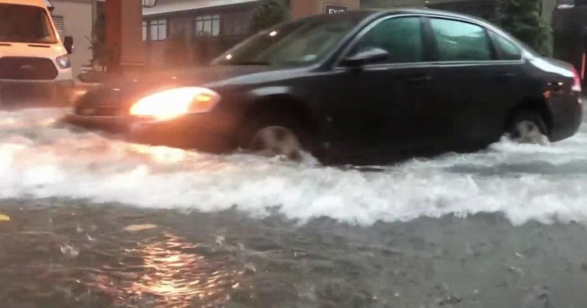 Mandatory evacuations in Louisiana as storm system along the Gulf Coast  intensifies
