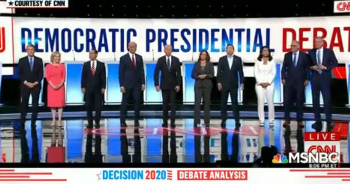 Debate night 2: Democratic party in-fighting instead of targeting Trump