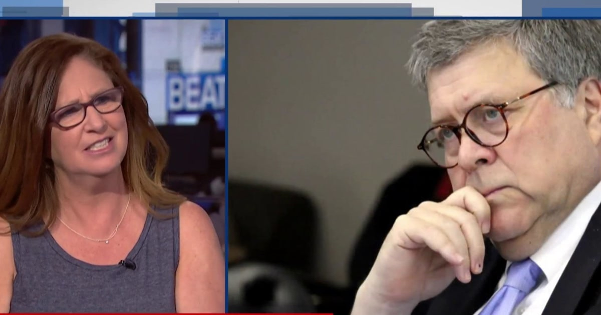 Dahlia Lithwick: 'nothing' AG Barr 'won't do to protect' Trump