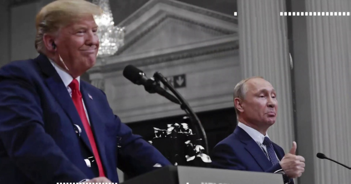 Day 943: Pumping up Putin, Trump wants Russia back to make the G7 to the G8 again