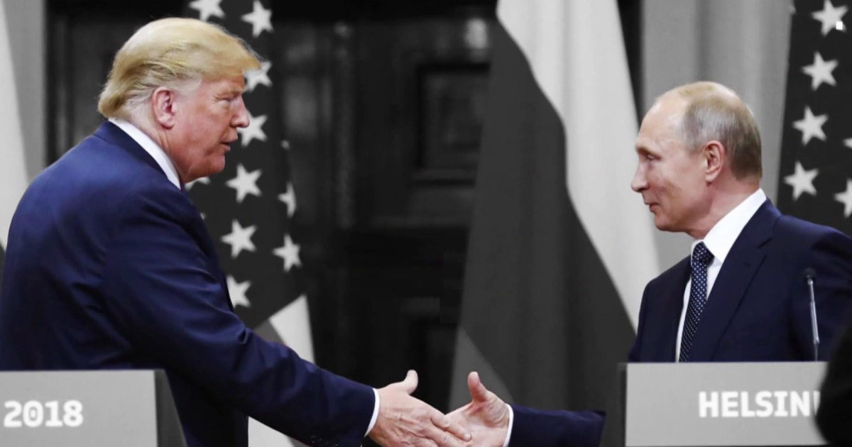 Frank Figliuzzi: Once again, we're left asking why Trump's so aligned with Putin