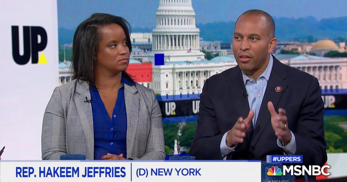 "Jeffries: Judiciary cmte must hold ""a rogue president accountable"""