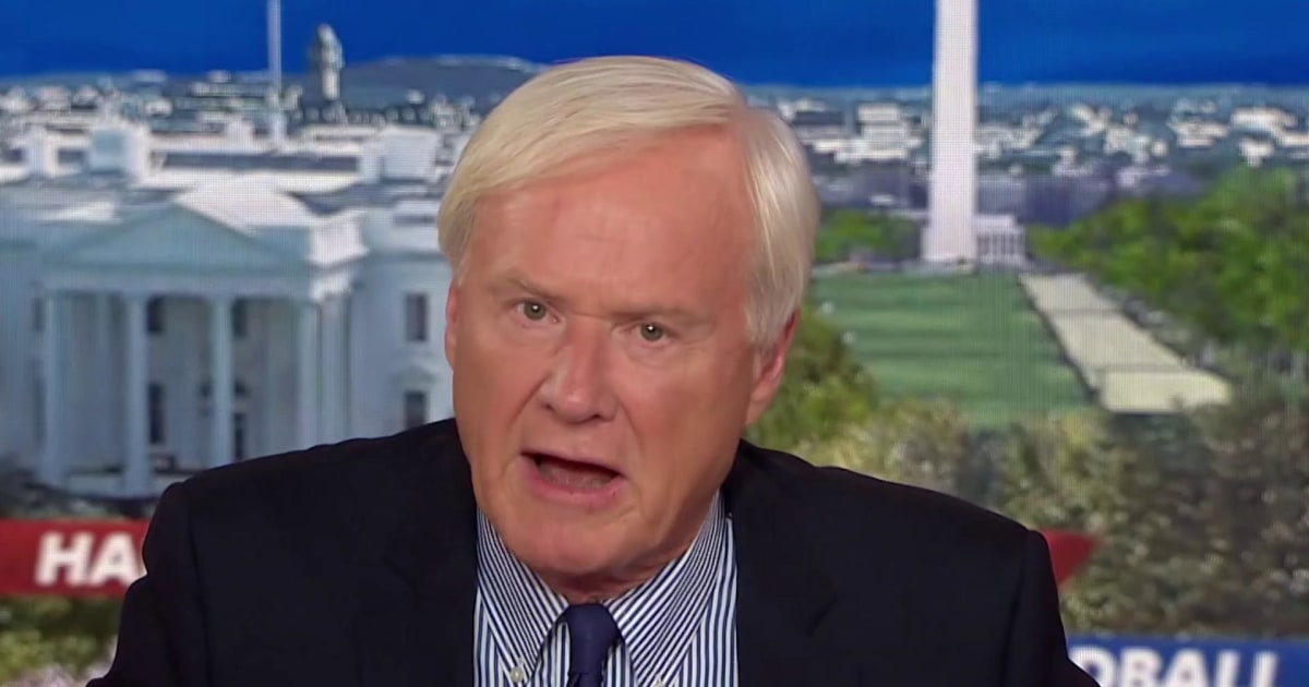 Chris Matthews: With tax cut failure and polls, Trump acting like a loser