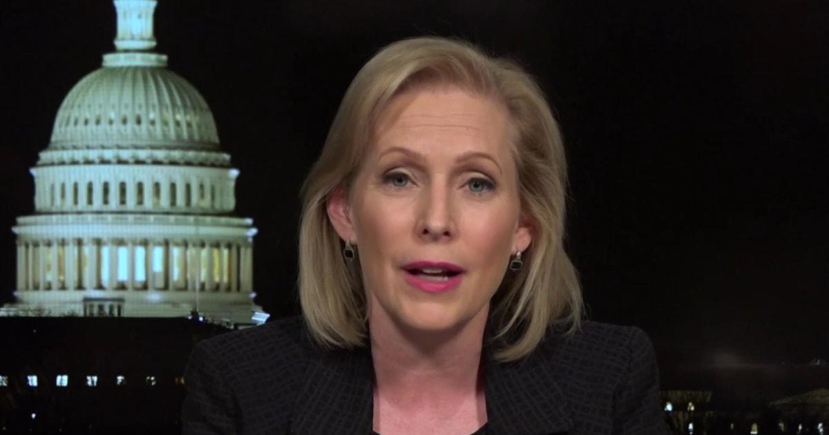 Sen. Kirsten Gillibrand on Trump's reversal on background checks