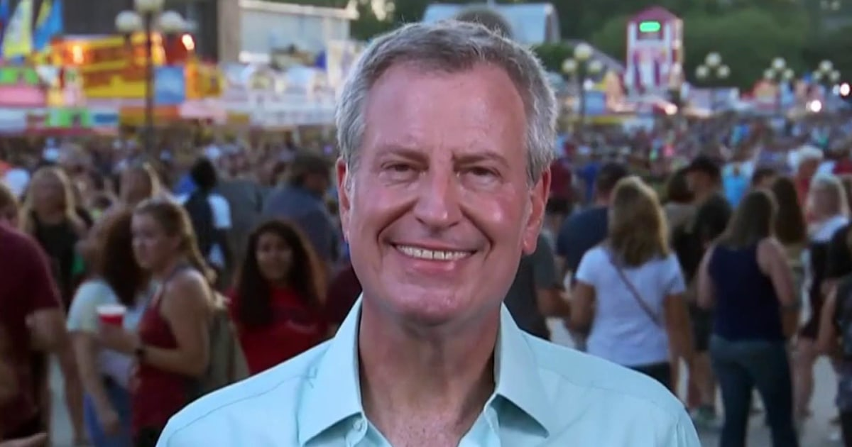 De Blasio: 'I'm absolutely confident in our medical examiner's office. I am not confident at all in the Justice Department.'