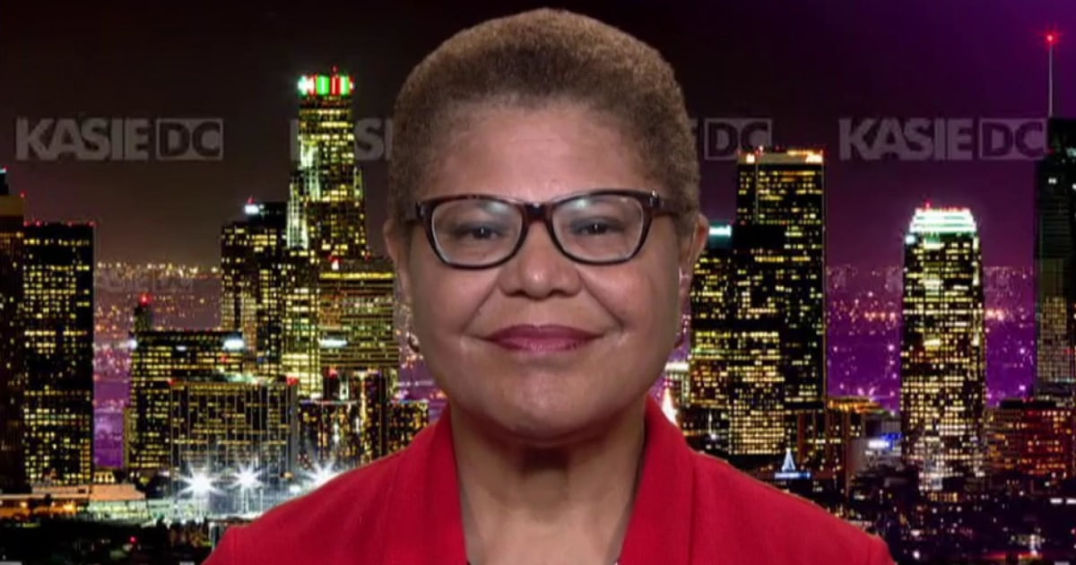 Rep. Karen Bass: El Paso shooter's alleged screed 'reads like a script from a Trump rally'