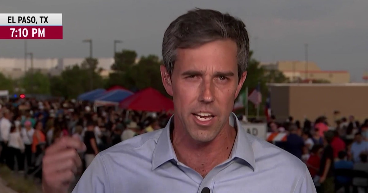 O'Rourke: Trump language is giving license to act on racism