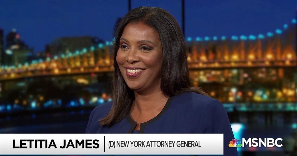 NY AG James undaunted by Trump frenzy to keep finances hidden