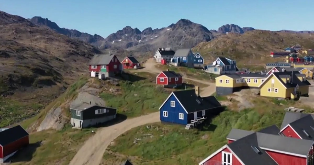 Greenland to President Trump: We're 'open for business, not for sale'