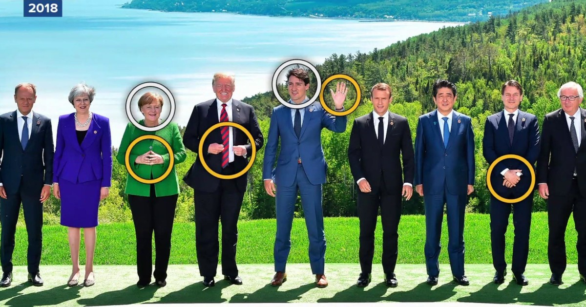 Should the G-7 summit retire its photo tradition?