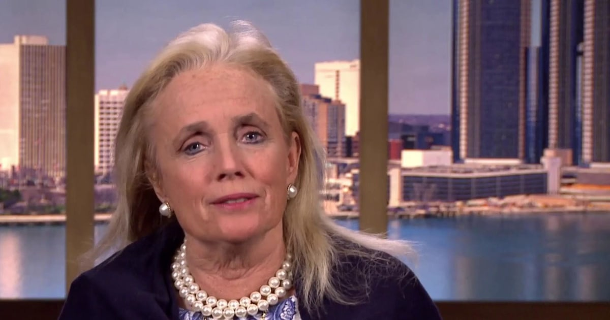 Full Dingell: On gun control, 'let's not go to our corners and do talking points.'