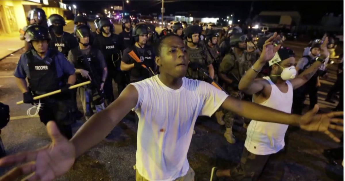 Looking at race relations in the U.S. 5 years after Ferguson