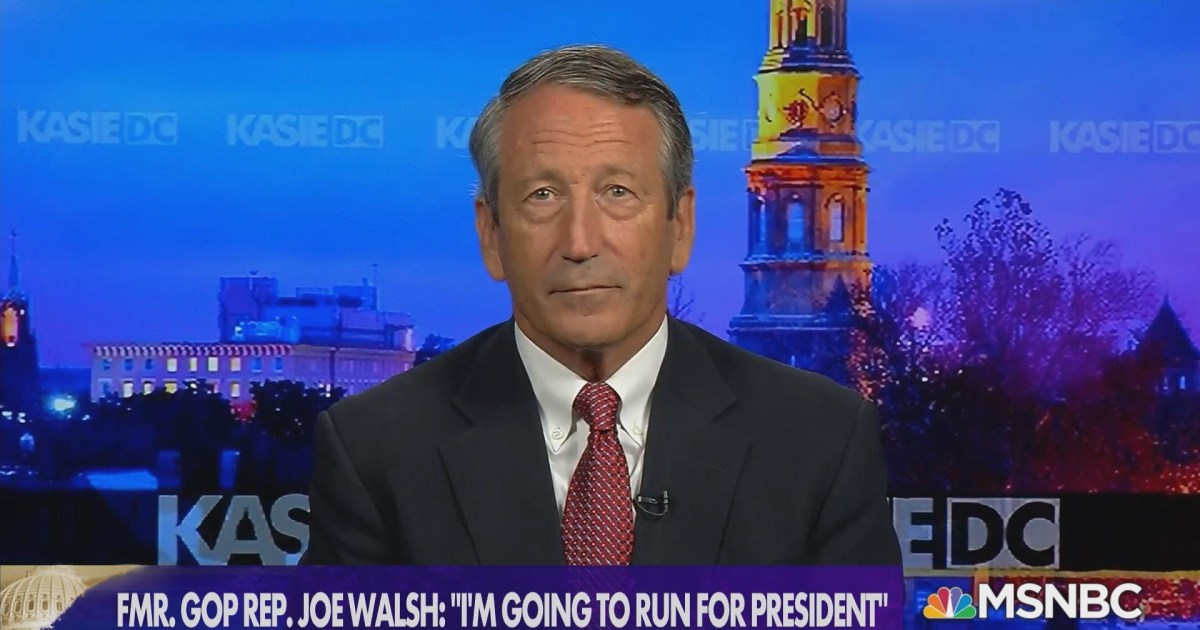 Fmr. GOP Rep. Sanford: 'A conversation with regard to sanity' would be a win in a primary contest