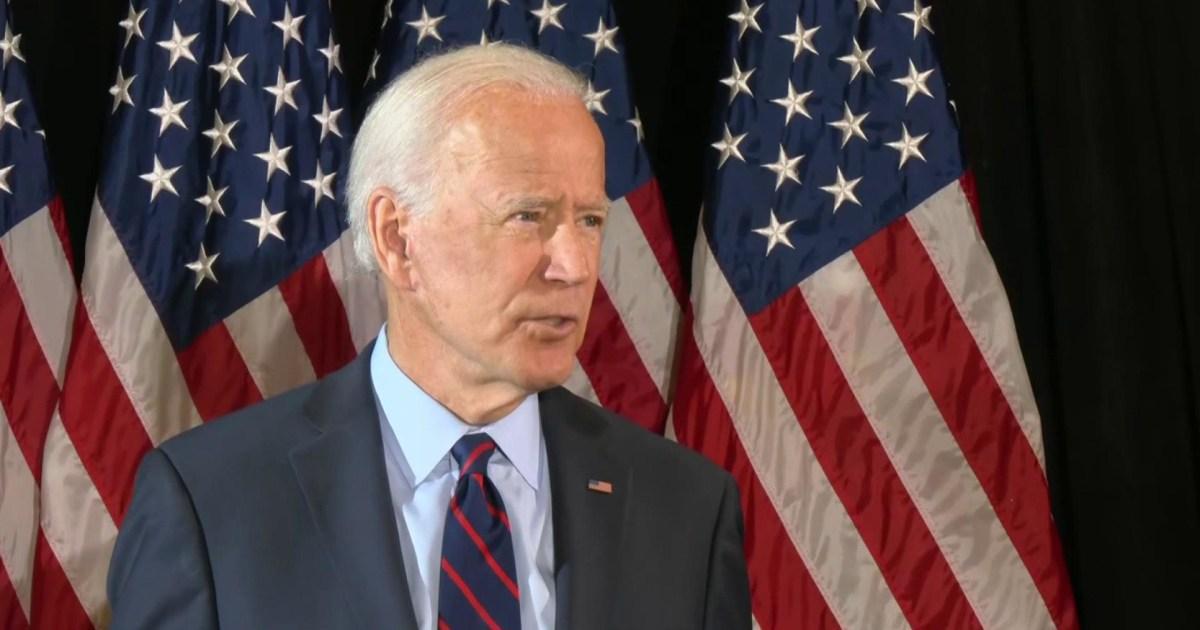 Biden:ト情報を保存することから議会が、虐待の力