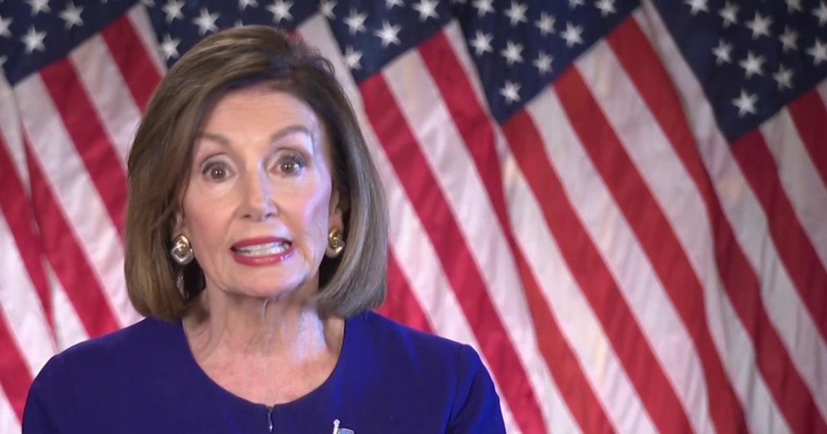 ハウスのスピーカー Pelosi発表の正式なimpeachment問い合わせ