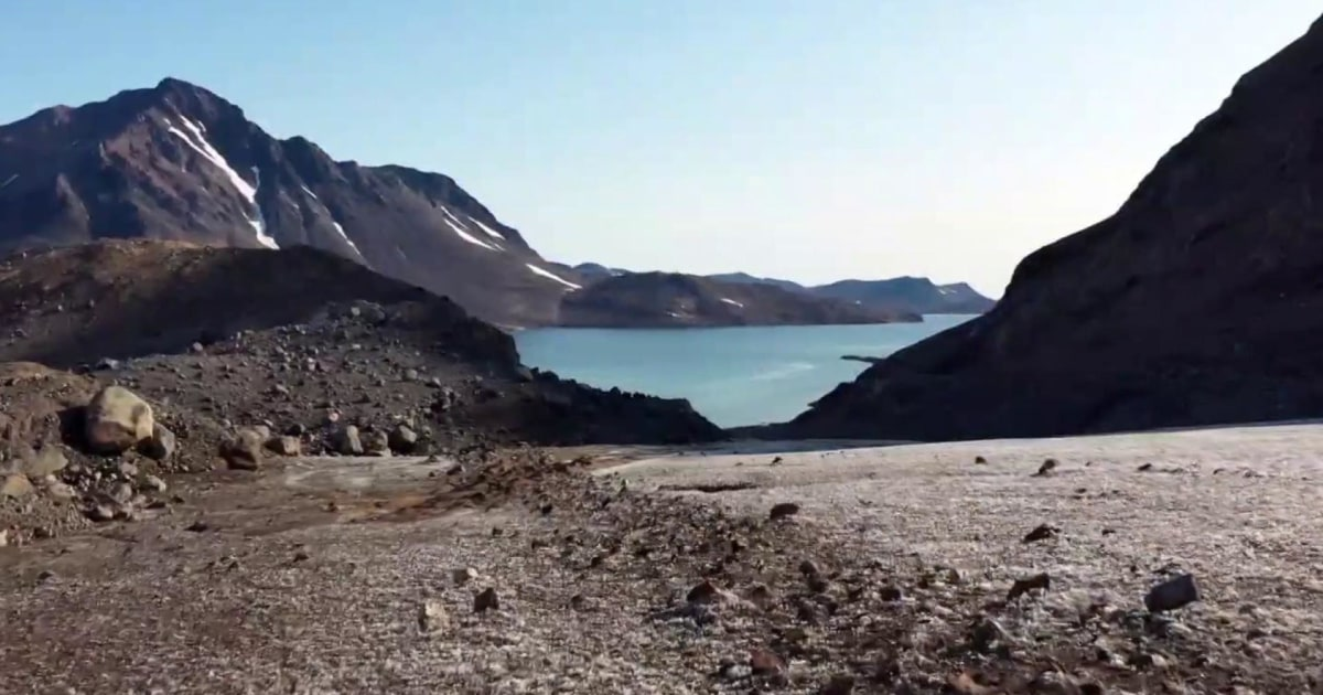 Scientists chart troubling signs of Greenland climate change - MSNBC