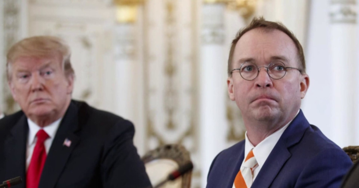Mulvaney left in the dark on ISIS - what does this mean?