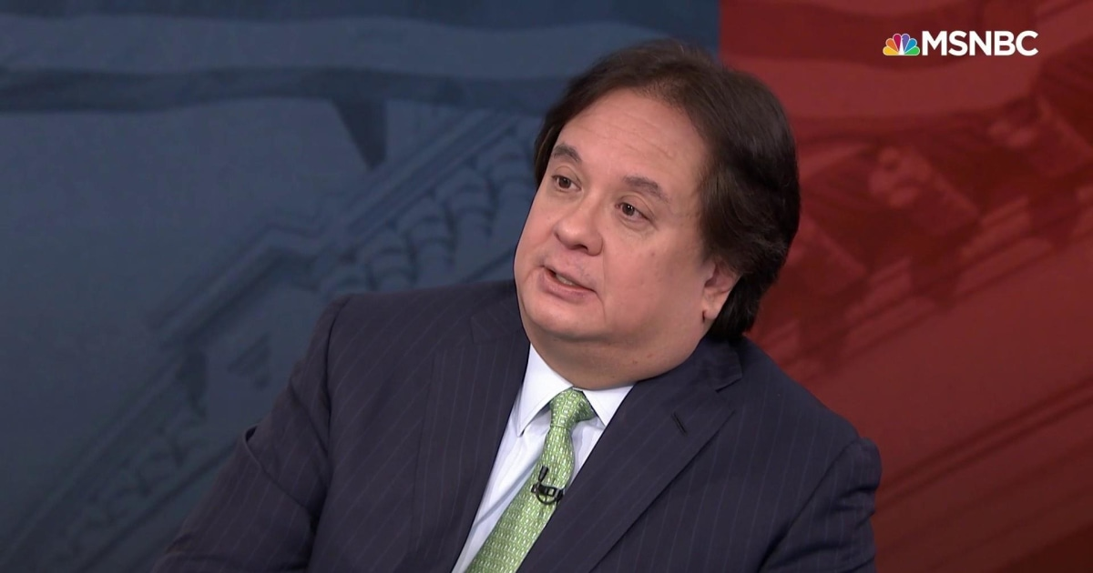 George Conway: ich bin 'entsetzt' und 'entsetzt', dass die GOP hat sich zu diesem