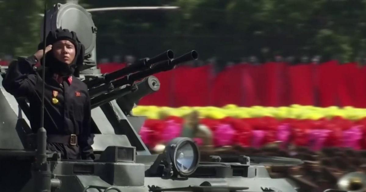 US-Beamte Verstrebungen nach Nordkorea unheilvolle Warnung vor einem