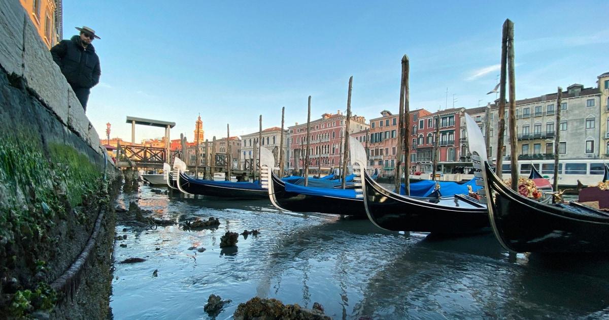 ヴェネツィアの運河な空間として潮流が急激に減少
