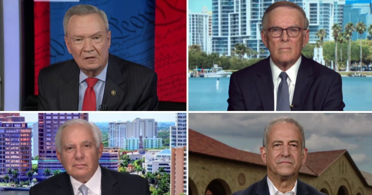 Four of Mitch McConnell's former Senate colleagues challenge his defense of POTUS