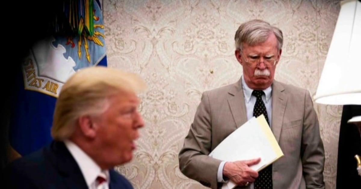 NYT-Bericht: Bolton behauptet, früher Trump Beteiligung mit der Ukraine