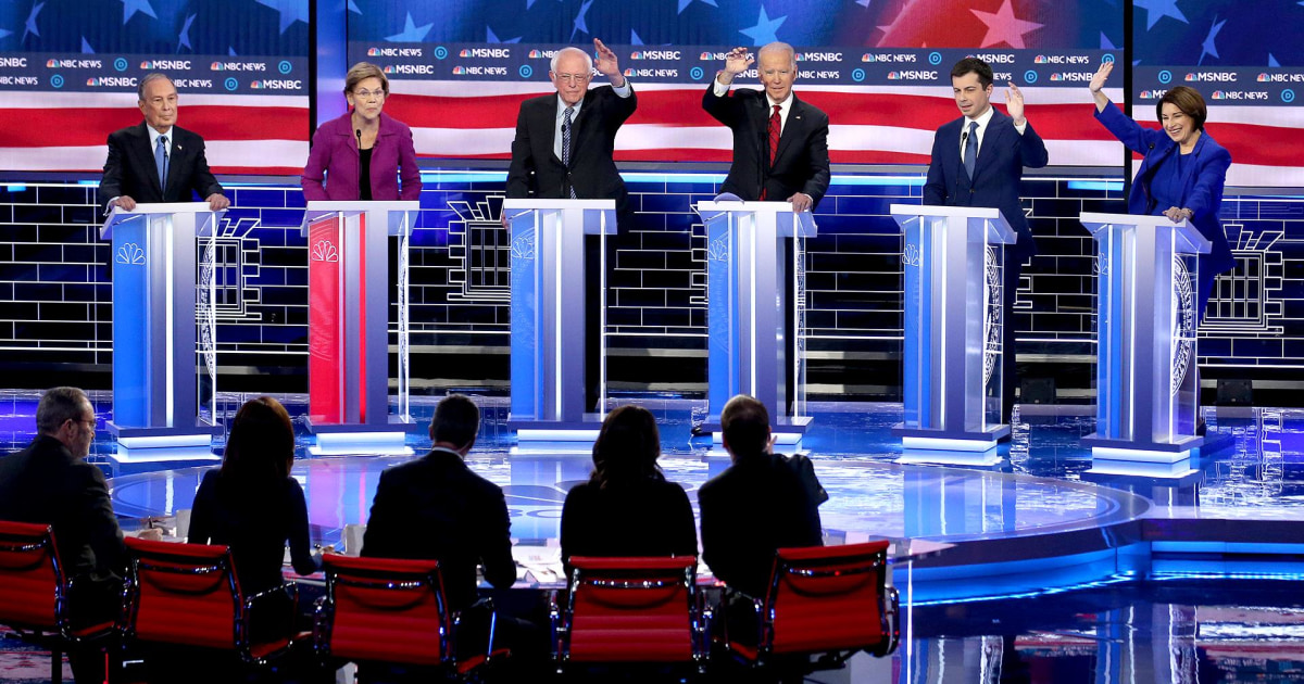 REWATCH: 2020 Democratic presidential debate on FREECABLE TV