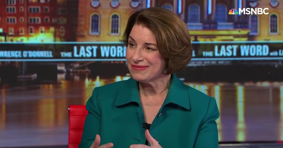 Sen. Amy Klobuchar's Last Word to NH Voters: 'You have a home with me'