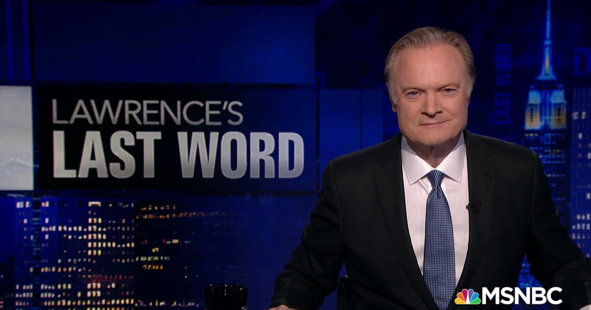 Lawrence's Last Word: The campaign is in the William Goldman moment