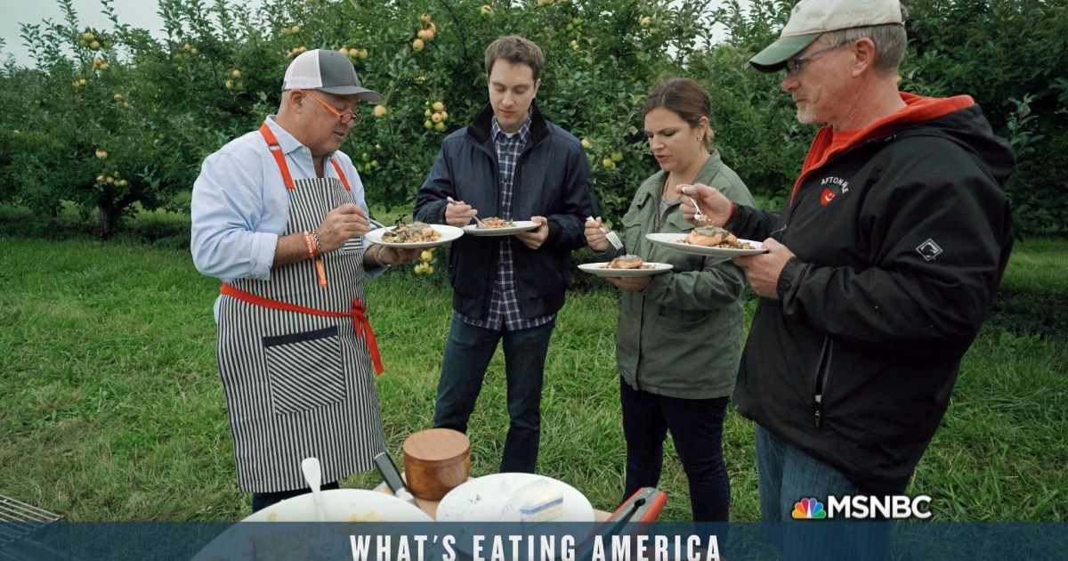 Apple farmers witness effects of climate change in the new episode of What's Eating America - MSNBC