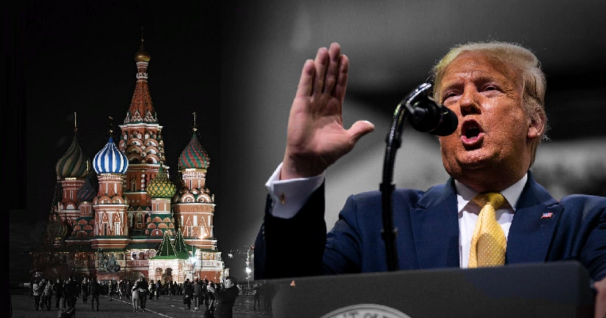Trump is mad Dems know Russia is meddling to get him re-elected