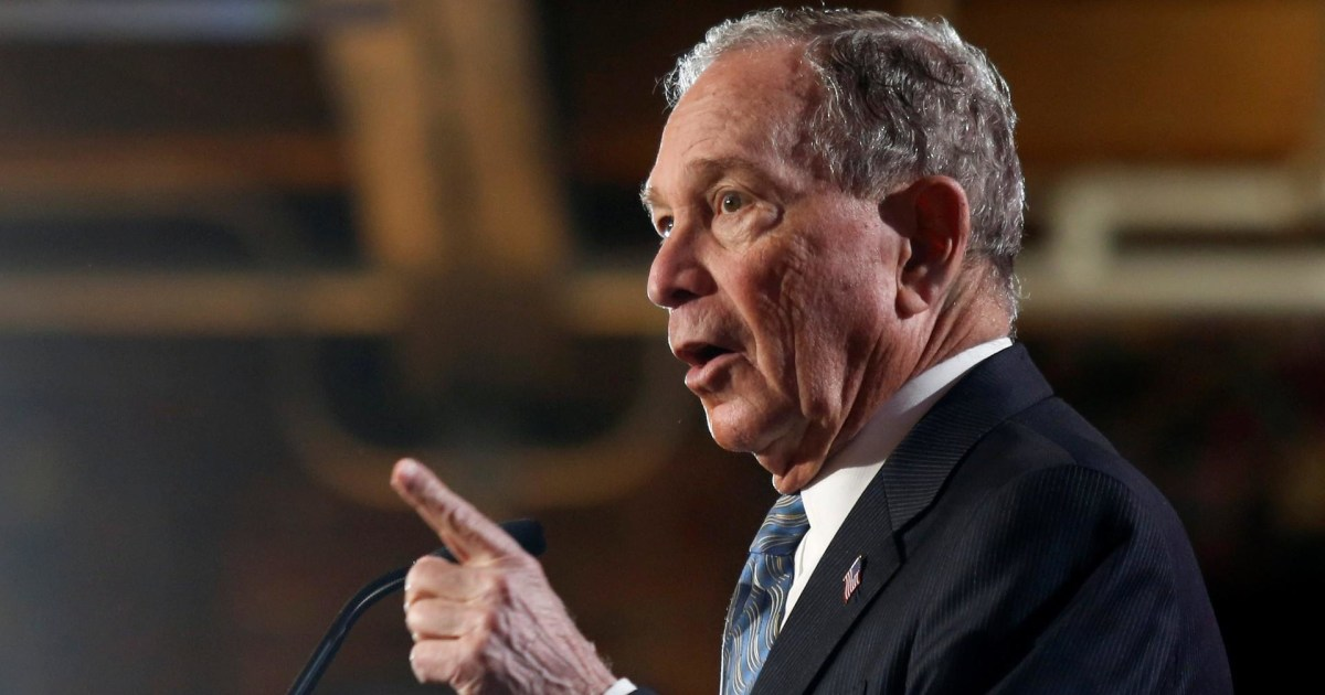 WaPo: Bloomberg has battled allegations of profane, sexist comments for years