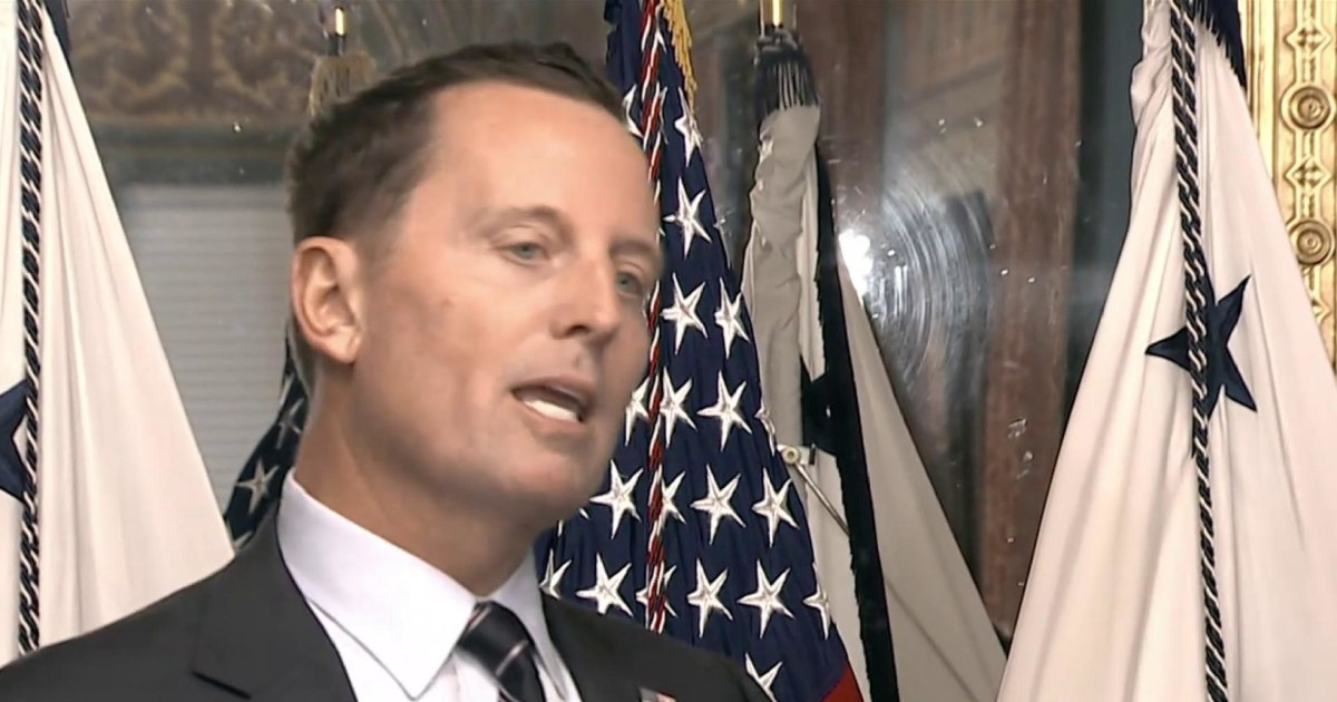 Richard Grenell not expected to serve as DNI for long