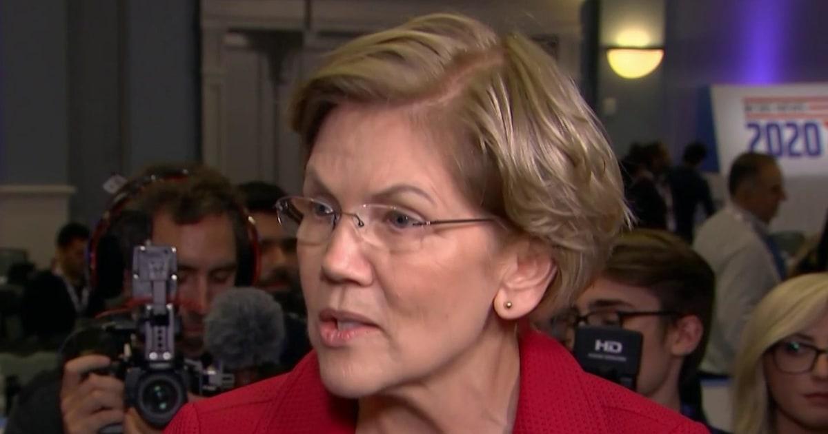 Warren on Bloomberg's pregnancy discrimination denial: 'I believe the woman'