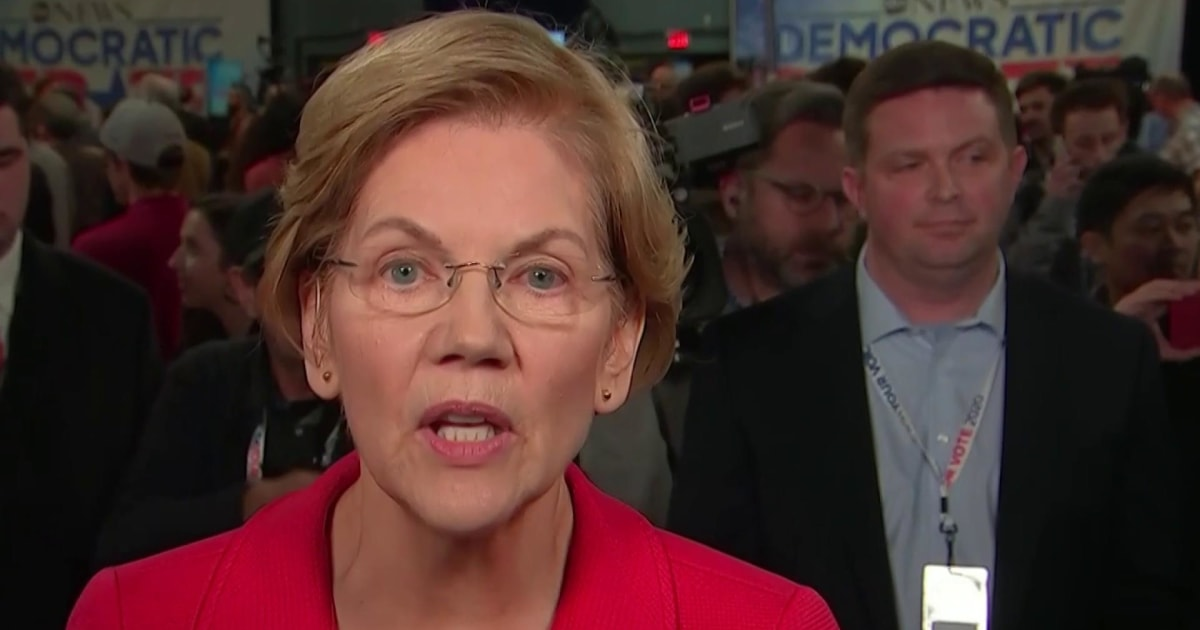Elizabeth Warren: Trump thinks govt is about helping his 'cronies, family'