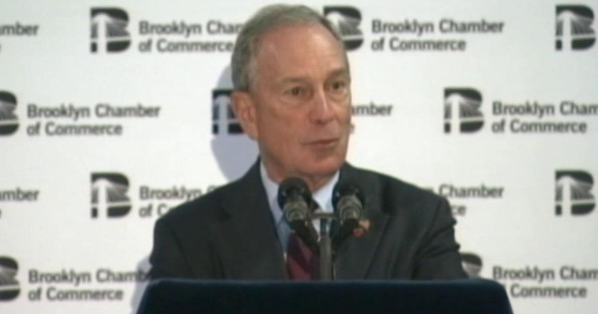 Rep. Rush: Bloomberg seeks atonement with black community