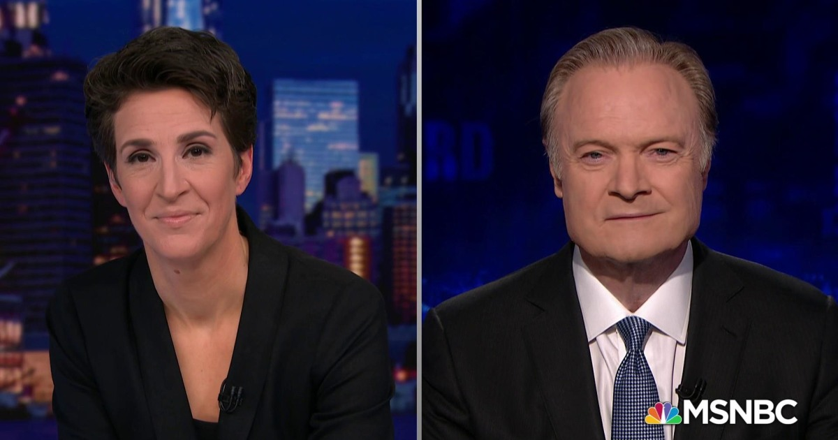 Lawrence and Rachel on the gender dynamics of presidential campaigns