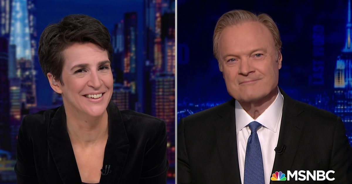 Lawrence and Rachel question reports that Barr might leave DOJ over Trump tweets